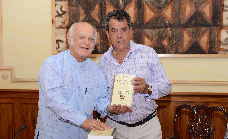 Un nouveau tome du dictionnaire de l'Académie tahitienne