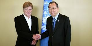 """Les négociations climatiques """"dernière chance"""" pour la planète, estime Robert Redford"""