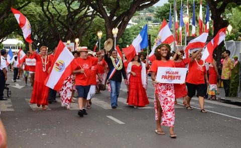 Huit Chevaliers de l'Ordre de Tahiti Nui distingués lundi