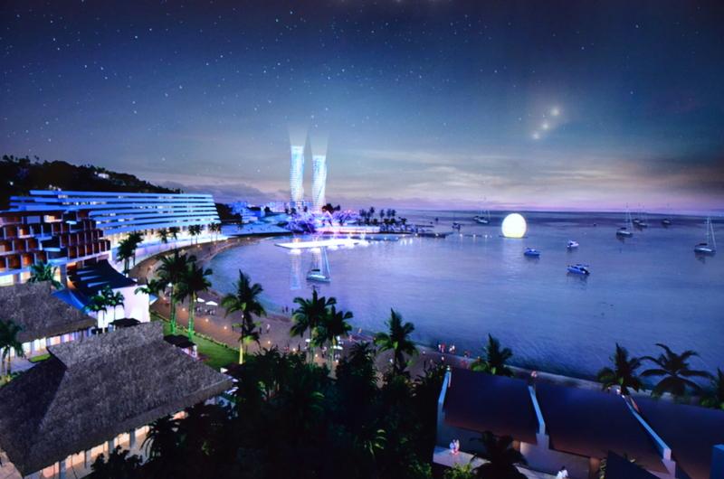 La construction du Tahiti Mahana Beach pourrait débuter en juin 2016