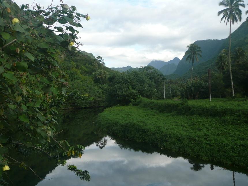 La Vaiiha est le quatrième plus grand bassin versant de Tahiti