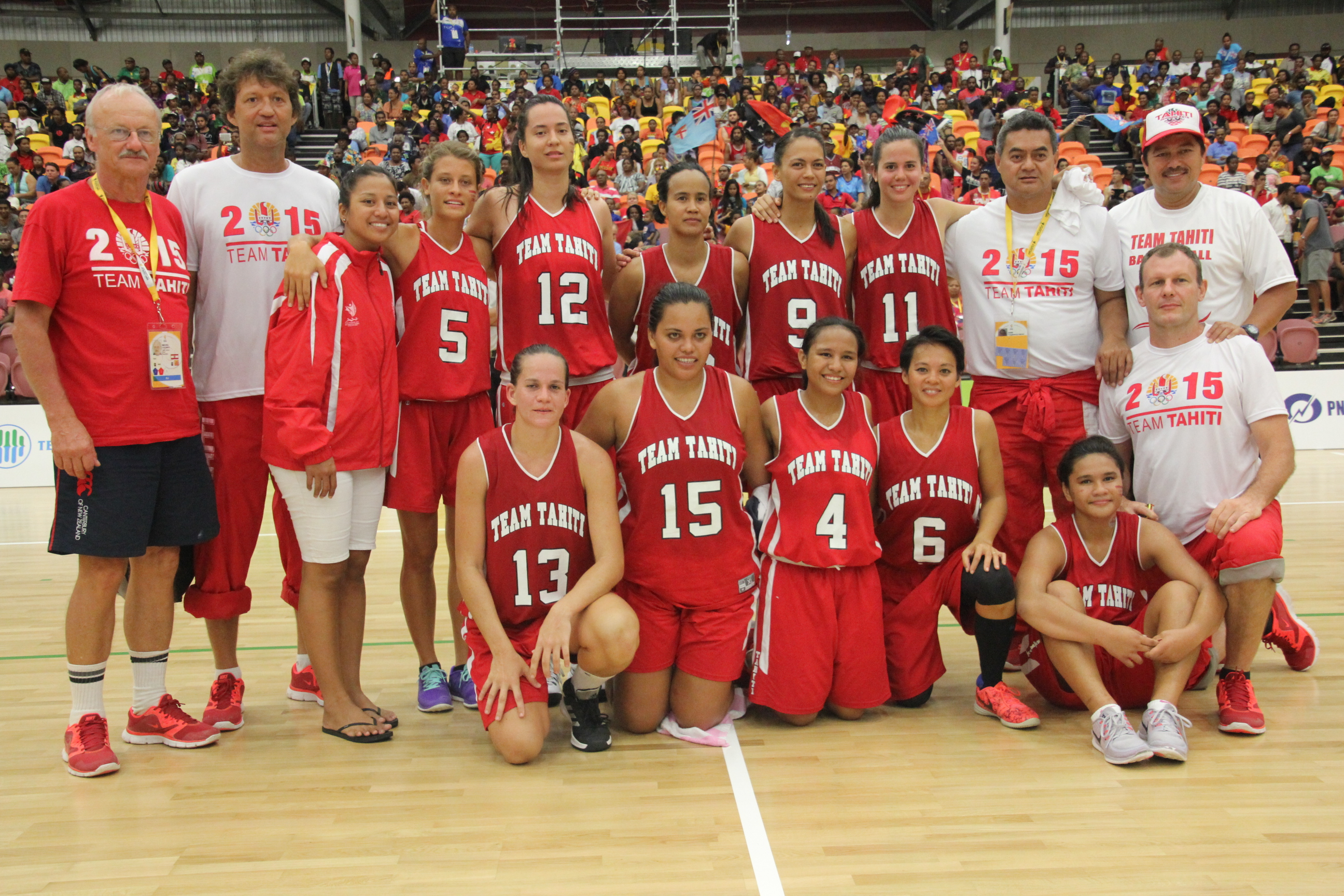 PNG 2015 : la sélection féminine de basket démarre fort
