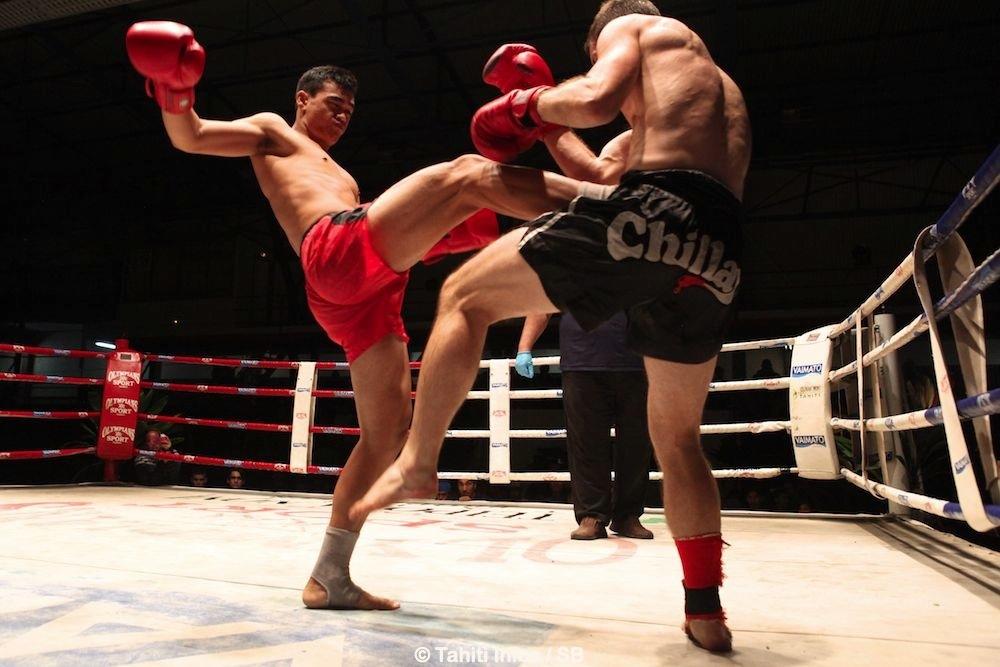 Eddy Bellai en rouge a fait un excellent combat