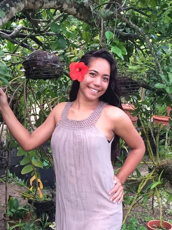 Candidate N°3: Teara-Mamatamoe Marie-Catherine 20 ans