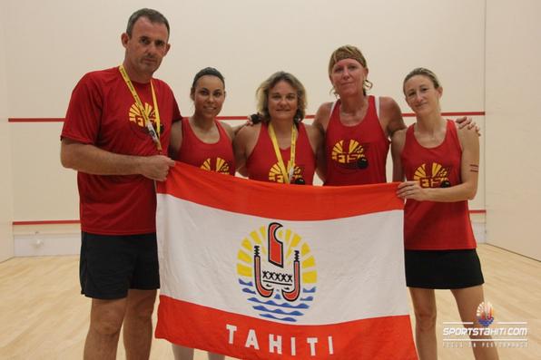 PNG 2015 « Squash » : Les femmes loupent le podium par équipe