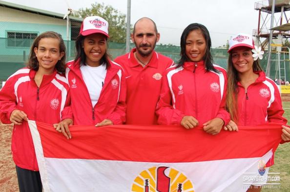PNG 2015 « Tennis » : Deux médailles de bronze par équipe pour Tahiti
