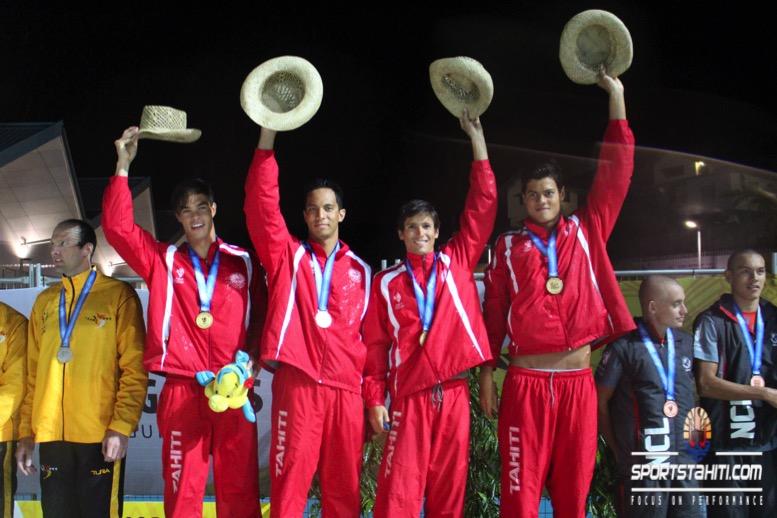 PNG 2015 « Natation – final day » : Pluie d'or pour nos nageurs à Port Moresby