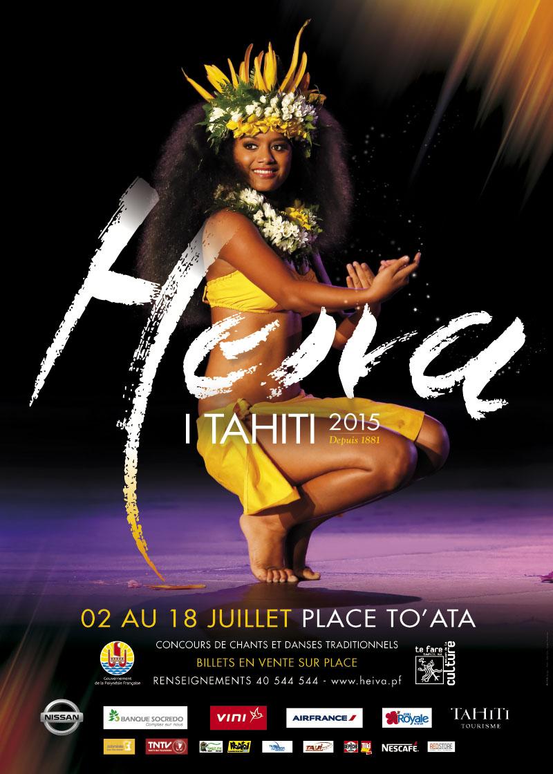 Heiva i Tahiti 2015 : votez pour votre groupe de danse préféré (Hura Tau) !