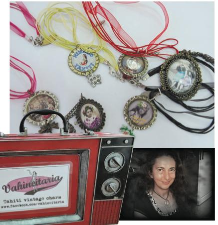 Silvia, créatrice passionnée de photos anciennes polynésiennes
