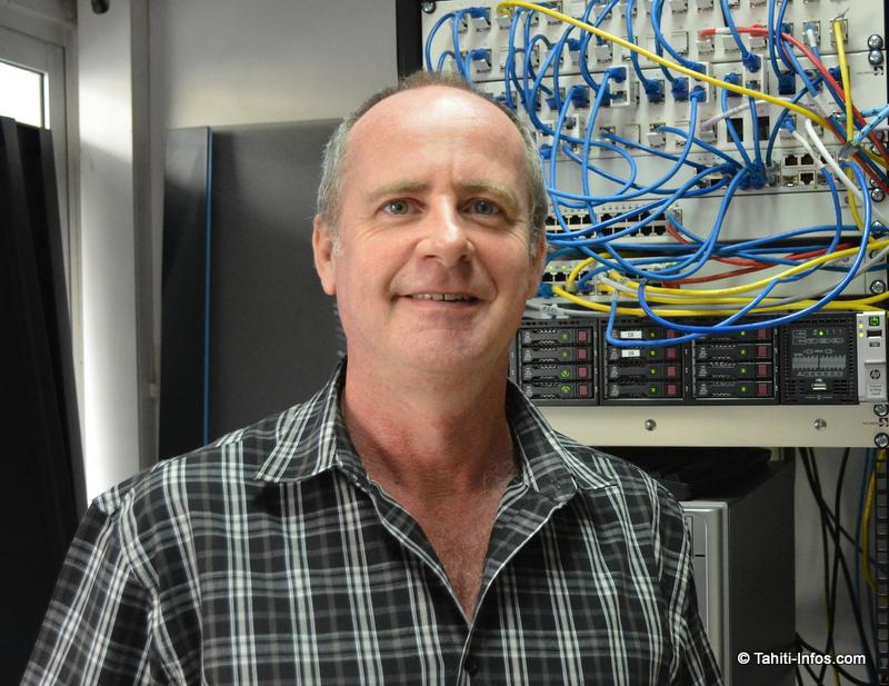 Frédéric Dock est le directeur de Cegelec, le président de la Commission économique du Medef et le vice-président d'OPEN, une organisation qui regroupe les entreprises du numérique polynésien, dont Tahiti Infos.