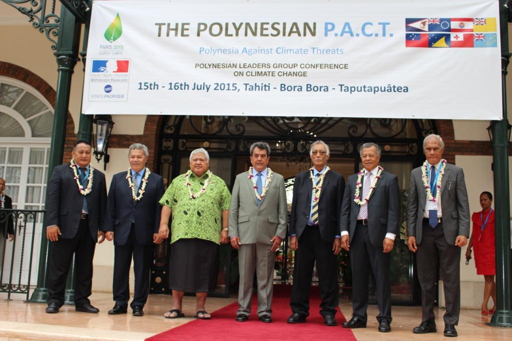 """Les leaders polynésiens veulent """"taper du poing sur la table"""""""