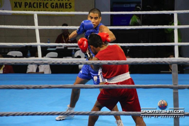 PNG 2015 « Boxe » : Début victorieux des boxeurs tahitiens