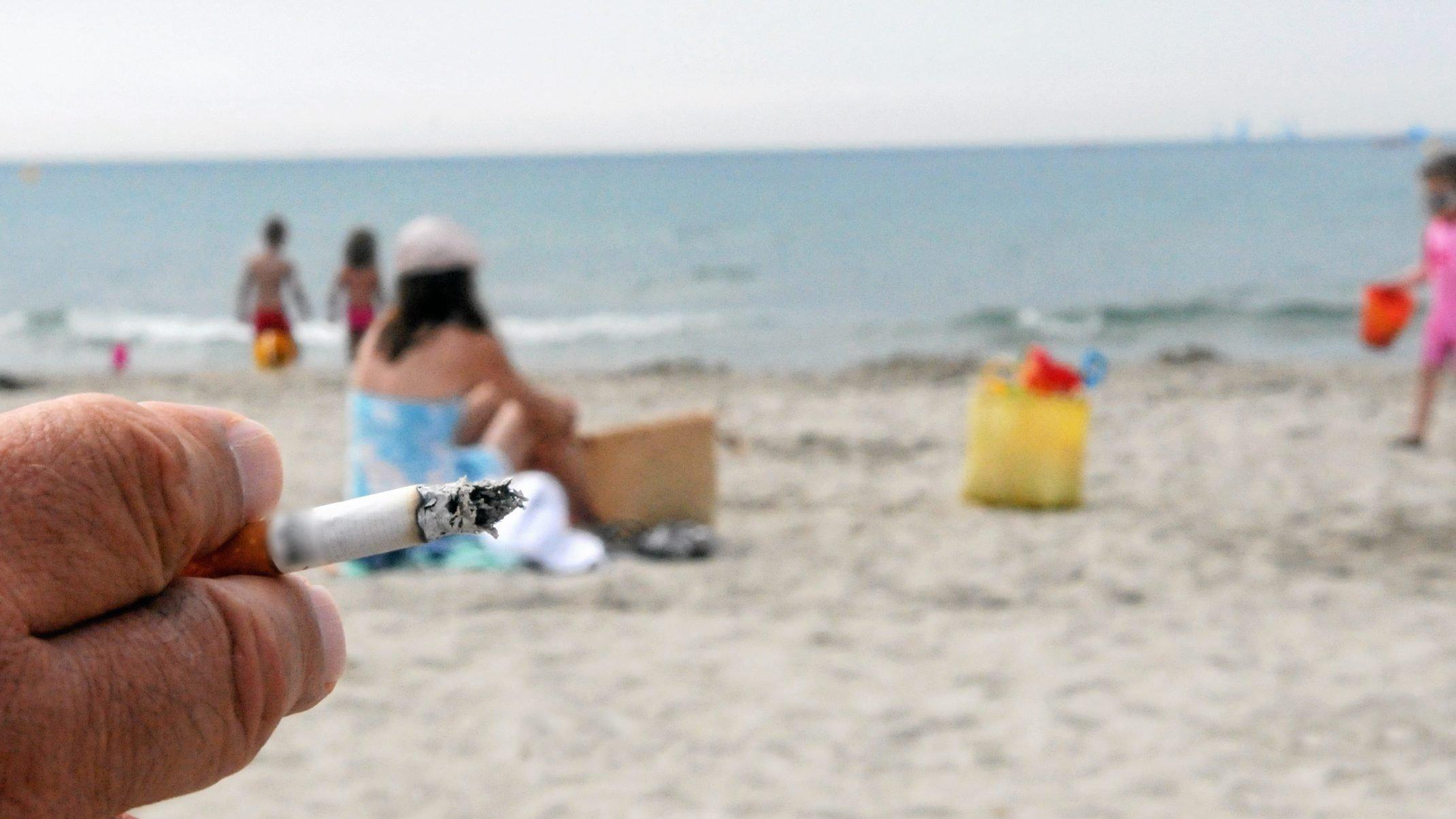"""De nouvelles """"plages sans tabac"""" en Corse"""