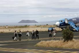 Au milieu des iguanes des Galapagos, un aéroport 100% vert
