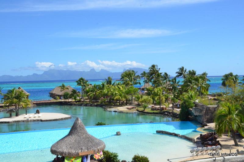 Le site du grand motu de l'InterContinental Tahiti Resort & Spa a fait peau neuve pour accueillir le Mini Heiva.