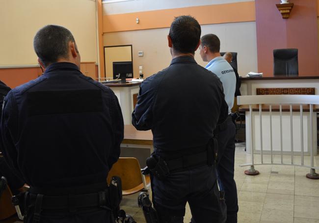 Durant l'audience de comparution immédiate ce lundi après-midi au tribunal de Papeete.