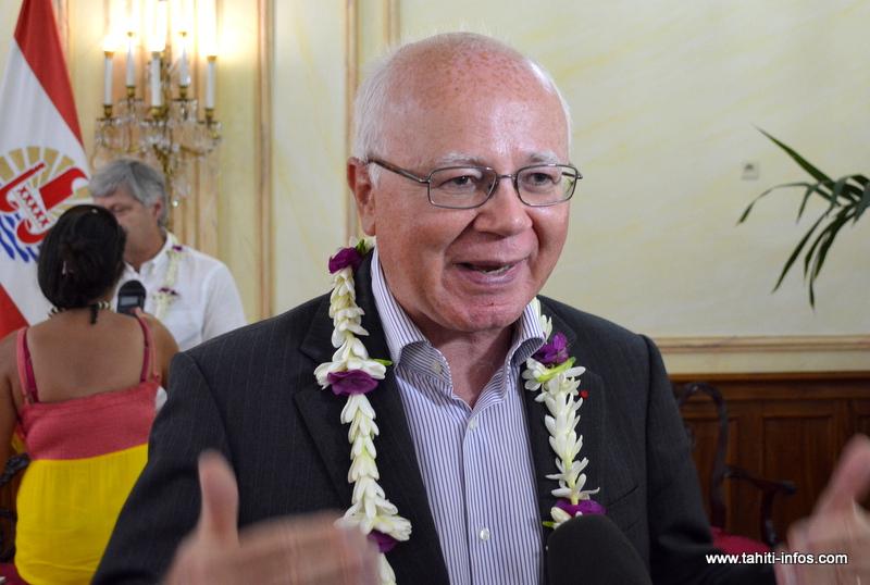 """""""La Polynésie française n'a pas été chiche dans les pouvoirs qu'elle a attribué à son Autorité de la concurrence"""" Bruno Lasserre, président de la Haute autorité de la concurrence à Paris."""