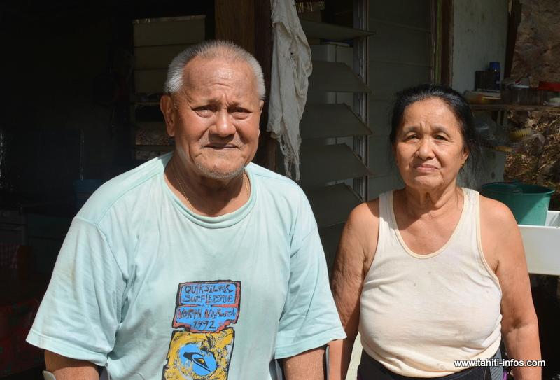 Papi et mamie Lee
