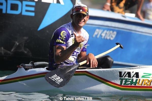 Steeve Teihotaata, le grand champion, arrive 3e.