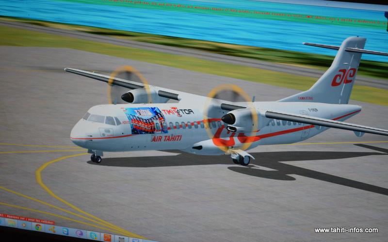 Un joueur a personnalisé son avion en hommage à nos champions