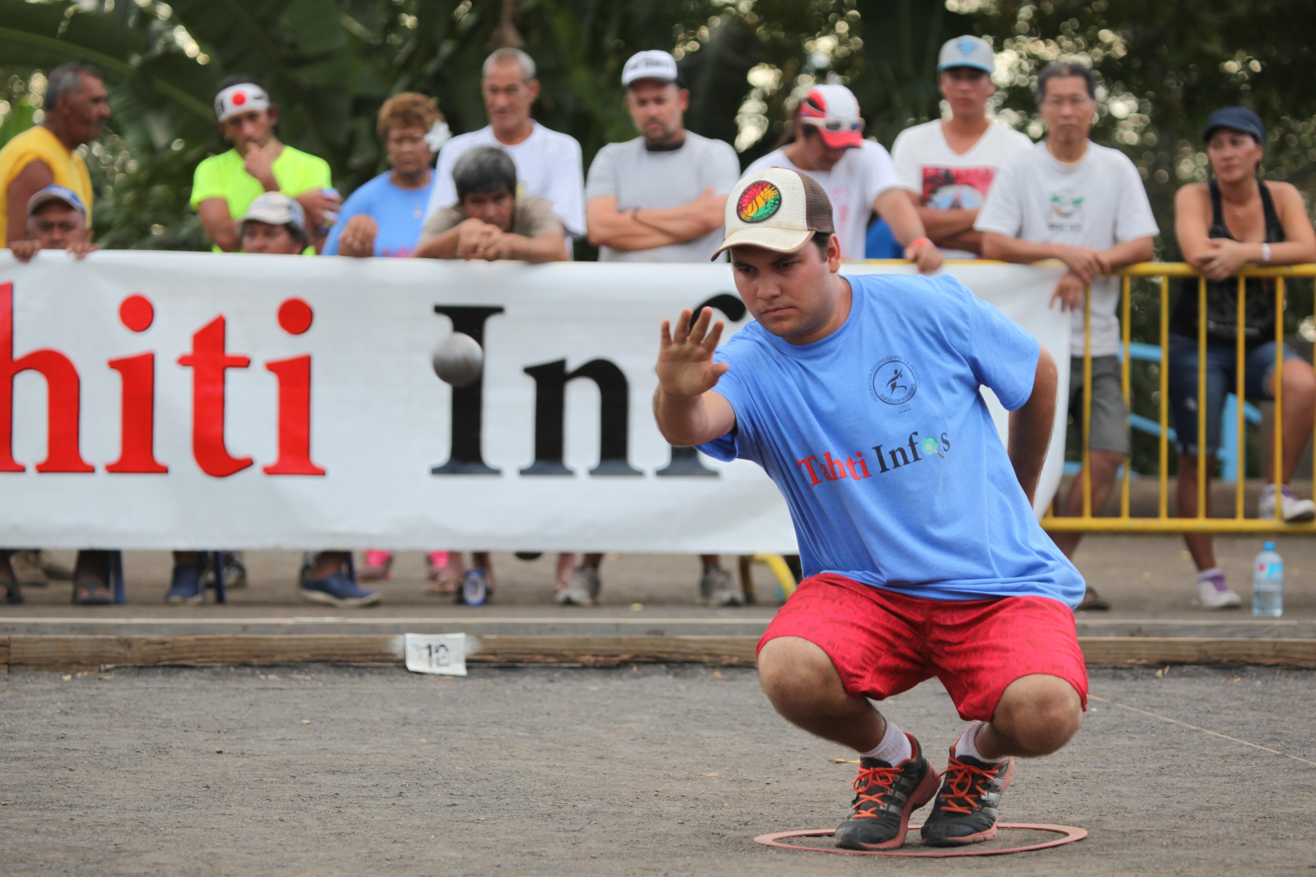 1er trophée FFP Tahiti Infos, carreau gagnant à Puurai