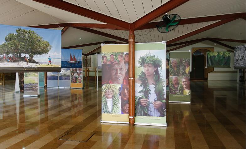 Exposition Tumu ra'i fenua : Taputapuatea à la rencontre des Polynésiens
