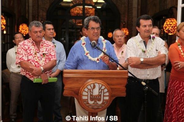 Beaucoup d'émotion, d'implication dans le discours du Président, 'fan' des Tiki Toa.