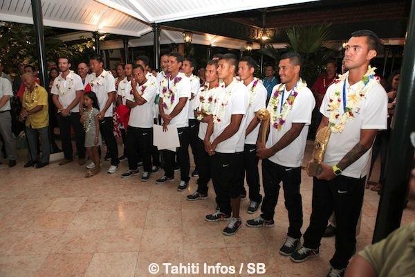 Les Tiki Toa ont été invités avec leurs familles