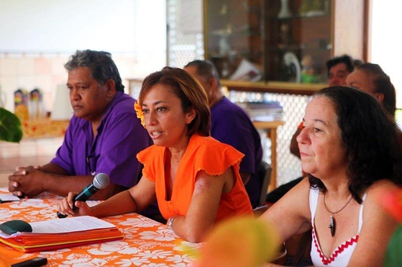 Nicole Sanquer ex-présidente de la fédération du Tahoera'a à Mahina préfère relativiser et attend la suite des évènements.