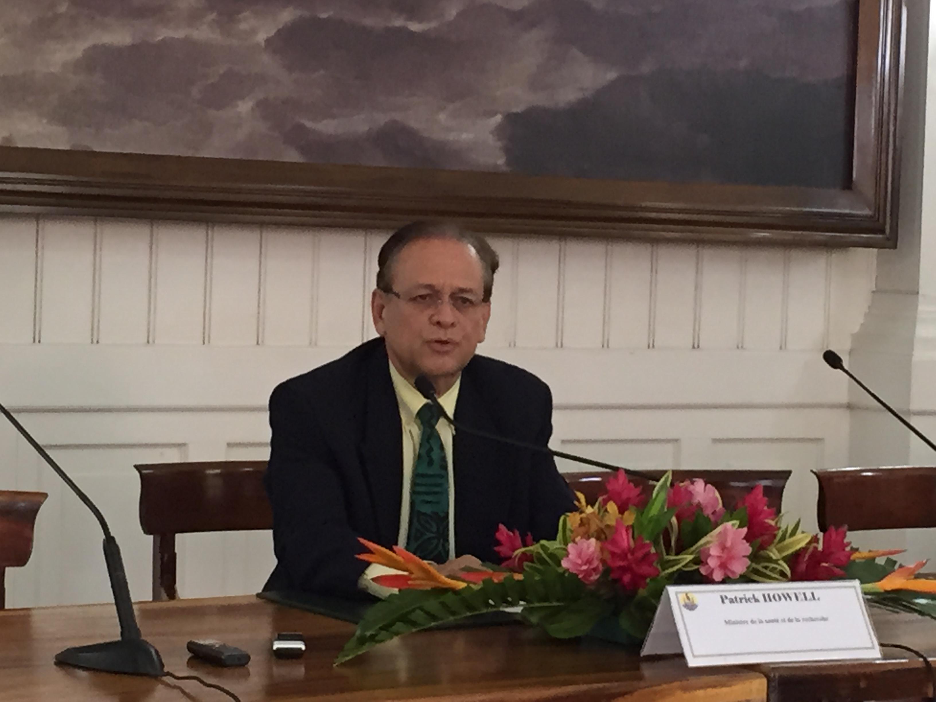 Patrick Howell s'est expliqué hier pour la première fois sur la révocation du directeur du CHPF.