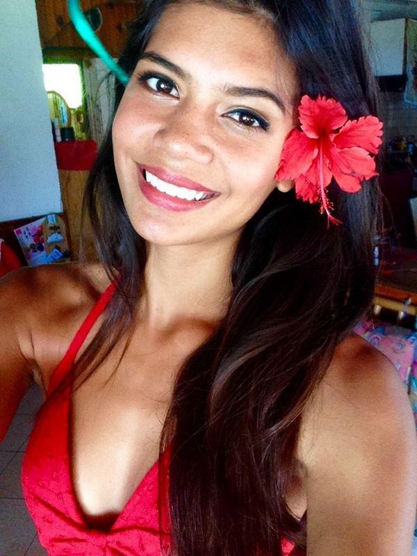 Vaimiti, la reine du selfie !