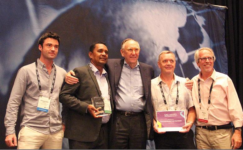 Congrès international des Systèmes d'Information Géographique : un prix pour la Polynésie
