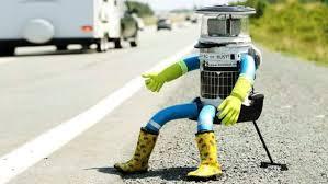 Le gentil petit robot autostoppeur retrouvé démembré