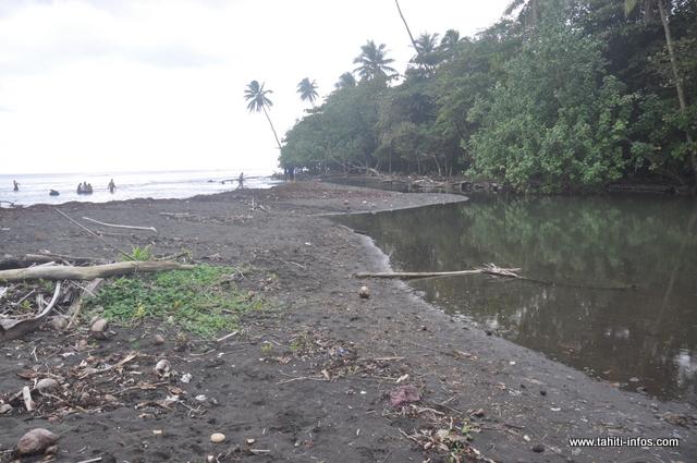 1000 m3 de sable seront extraits prochainement afin de fluidifier l'écoulement de l'eau