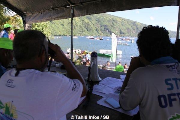 La fédération tahitienne de va'a apporte un soutien logistique, entre autres, lors des courses de va'a en Polynésie