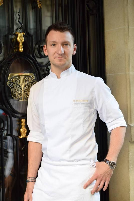 François Daubinet, chef pâtissier du restaurant Le Taillevent