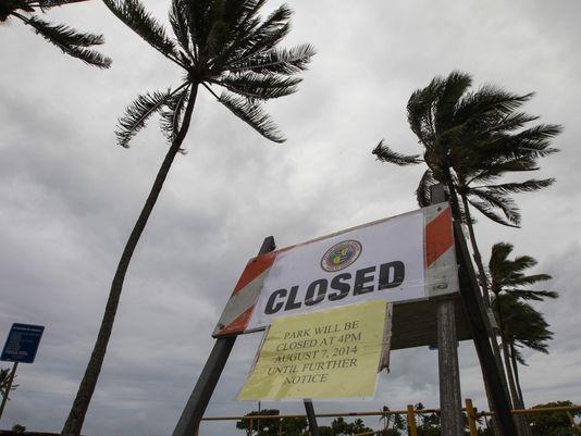 Début août 2014, quasiment jour pour jour, deux cyclones successifs avaient touché Hawaii.