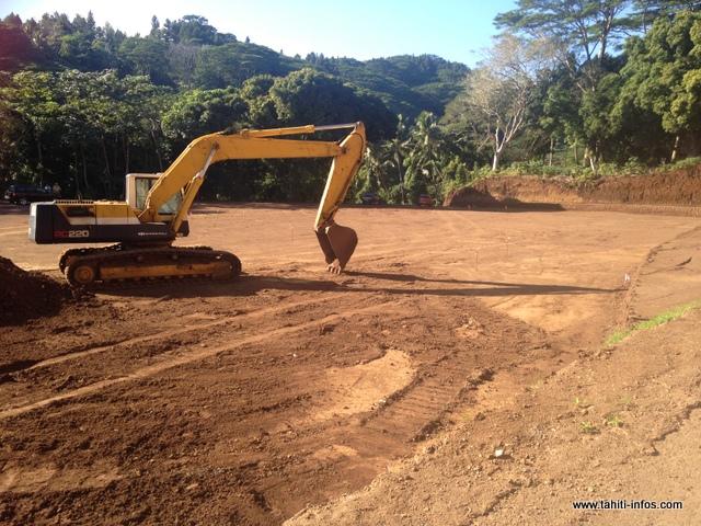 Le terrassement du futur cimetière est quasi terminé