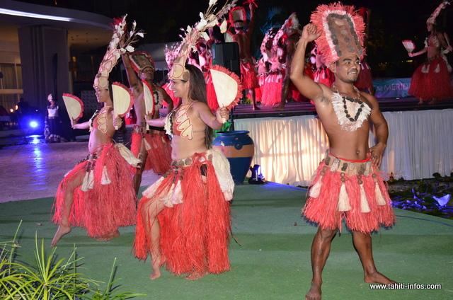 La troupe des Tamarii Papeari est arrivé deuxième au Heiva i Tahiti en catégorie Hura Ava Tau