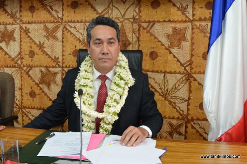 Le président de l'Assemblée de Polynésie est invité par les organisateurs du International overseas chinese trade fair 2015.