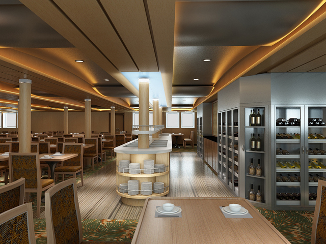 La nouvelle salle de restaurant