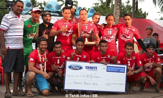 Mataiea s'impose lors du tournoi de beach soccer 'Elite'