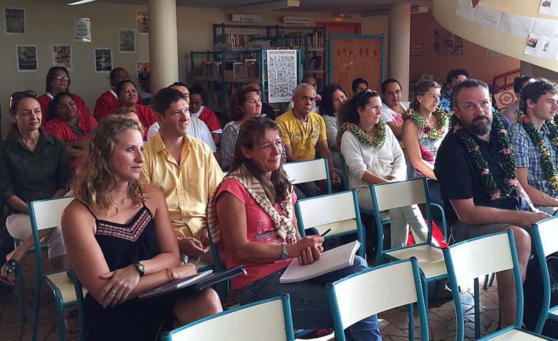 Education : la rentrée scolaire se peaufine au collège de Hitiaa