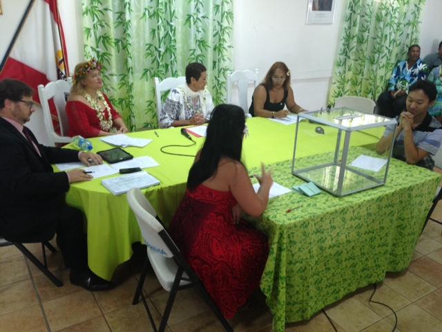 Damas Teuira élu dès le premier tour maire de Mahina