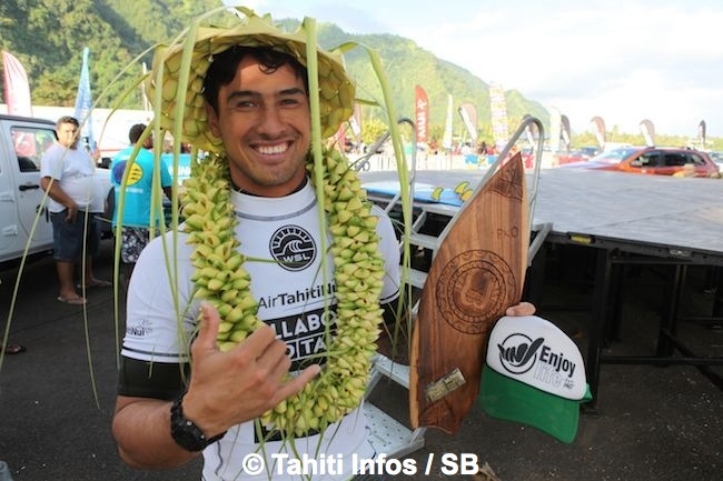 Taumata Puhetini vient de marquer l'histoire de la compétition