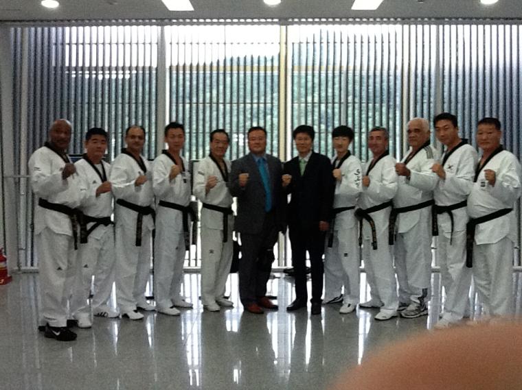Formation de Taekwondo en Corée du Sud