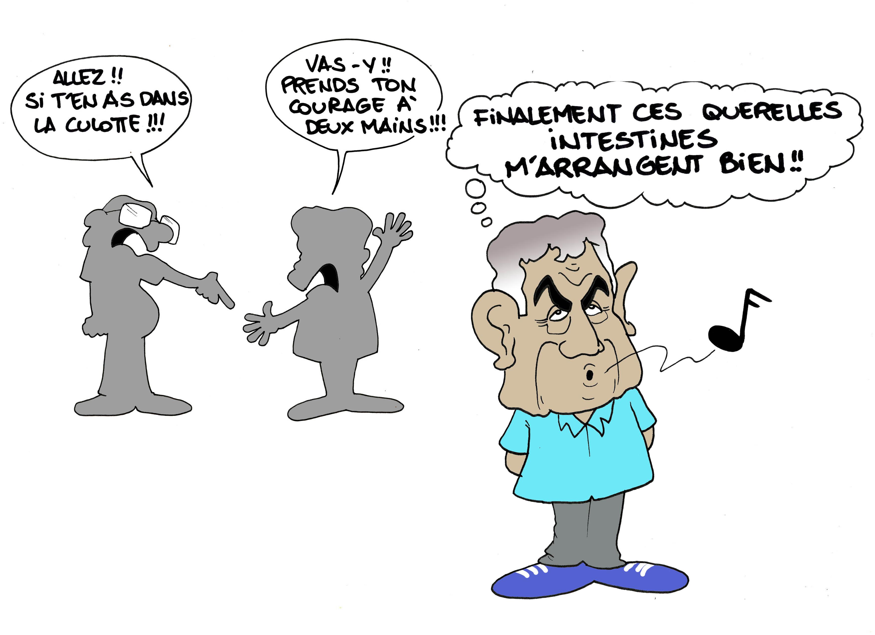 """""""Guerre des chefs et phrases assassines"""" par Munoz"""