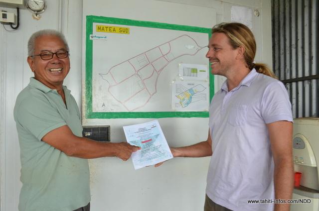 Le certificat SPG Bio Fetia reçu la semaine dernière valide la production bio d'une douzaine de variétés plantées à Matea Sud
