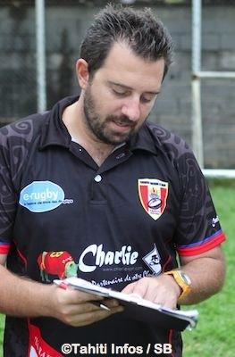 Teiki Dubois, un des piliers du rugby à Tahiti.