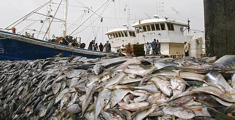Chalutiers chinois saisis pour violation des lois de pêche en Côte d'Ivoire.